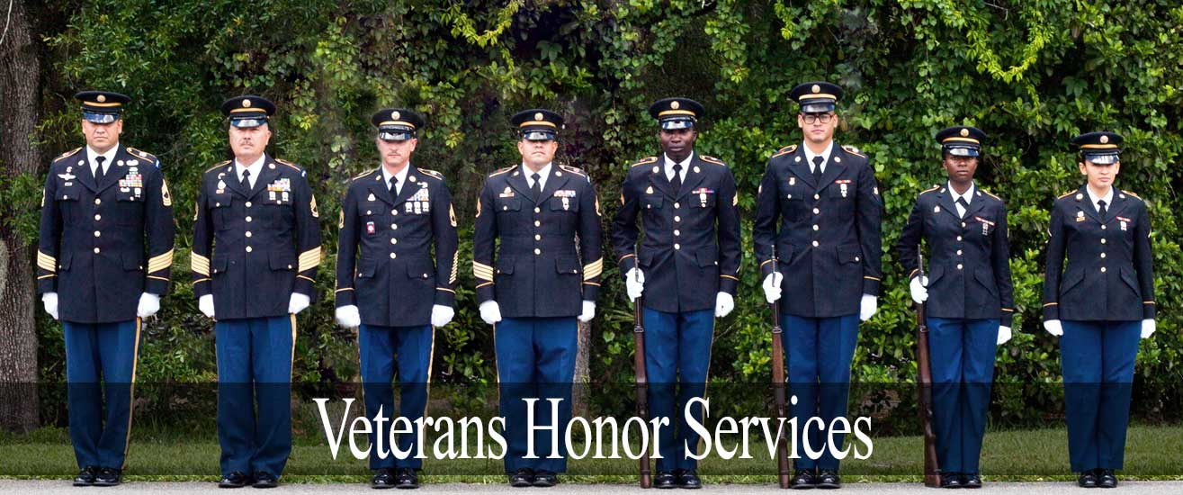 Funeral Home Veterans Info 000041 Veterans Honor Services