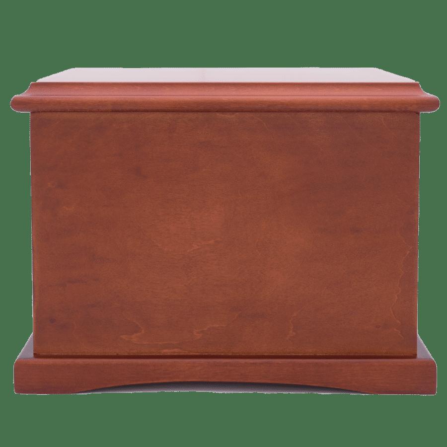 Veterans Funeral Care Coronet wood urn