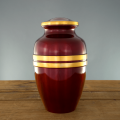 Scarlet Urn Red and Gold Veterans