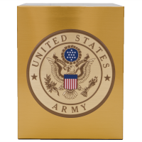 Veterans Funeral Care Simplicity Urn with Army seal