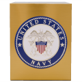 Veterans Funeral Care Simplicity Urn with Navy seal