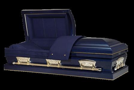 Veterans Funeral Care - Freedom Midnight Blue Casket