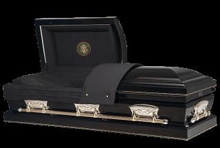 Veterans Funeral Care - Patriot Ebony - Army Casket