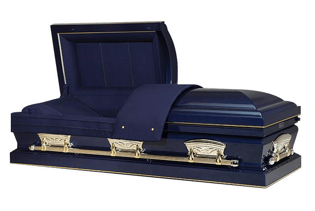 funeral home affordable funerals 000017 casket blue