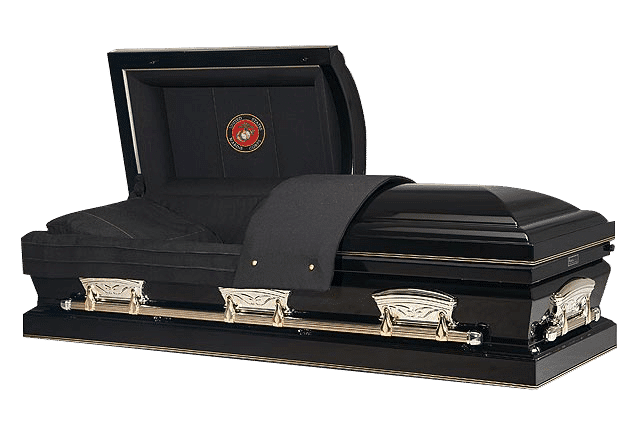 funeral home affordable funerals 000019 casket patriot ebony marine