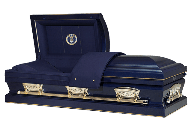 funeral home and cremations clearwater fl affordable funerals 000007 casket blue airforce