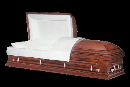 Veterans Funeral Care - Sebring Pecan Wood Casket