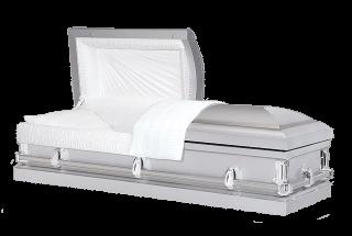 Veterans Funeral Care - Conway Spartan Silver Casket
