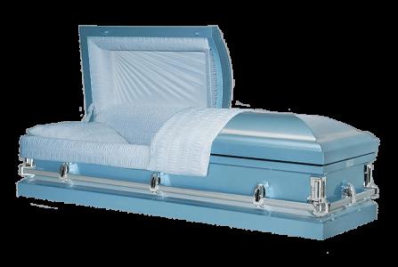 Veterans Funeral Care - Jansen Roman Blue Cakset
