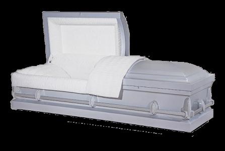 Veterans Funeral Care - Redding Silver Casket