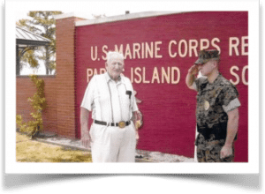 Funeral Home Blog a Marines Story of Guadalcanal 000086 Bill Livingston Parris Island