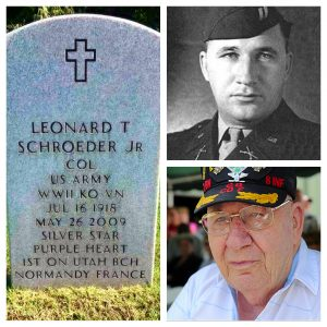 Funeral Home Blog Remembers Col Schroeder First to Normandy on D Day 000103 Colonel