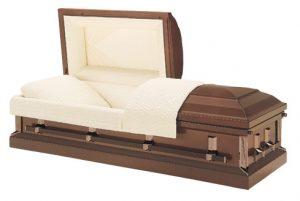 Browntone casket