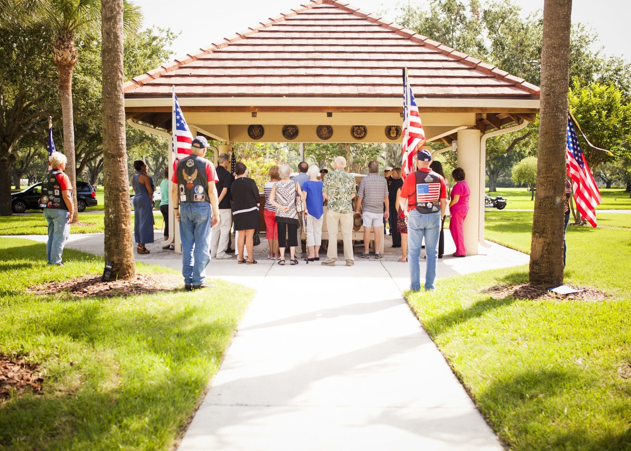 Funeral Home Careers 000114 Harleys Memorial Service 51