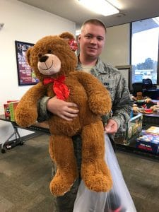 Funeral Home Blog Making a Difference One Toy at a Time 000091 Macdill Teddy Bear