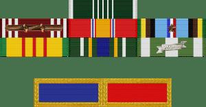 lowell st. cyr medal rack