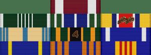 Patrick Hough Medal Rack